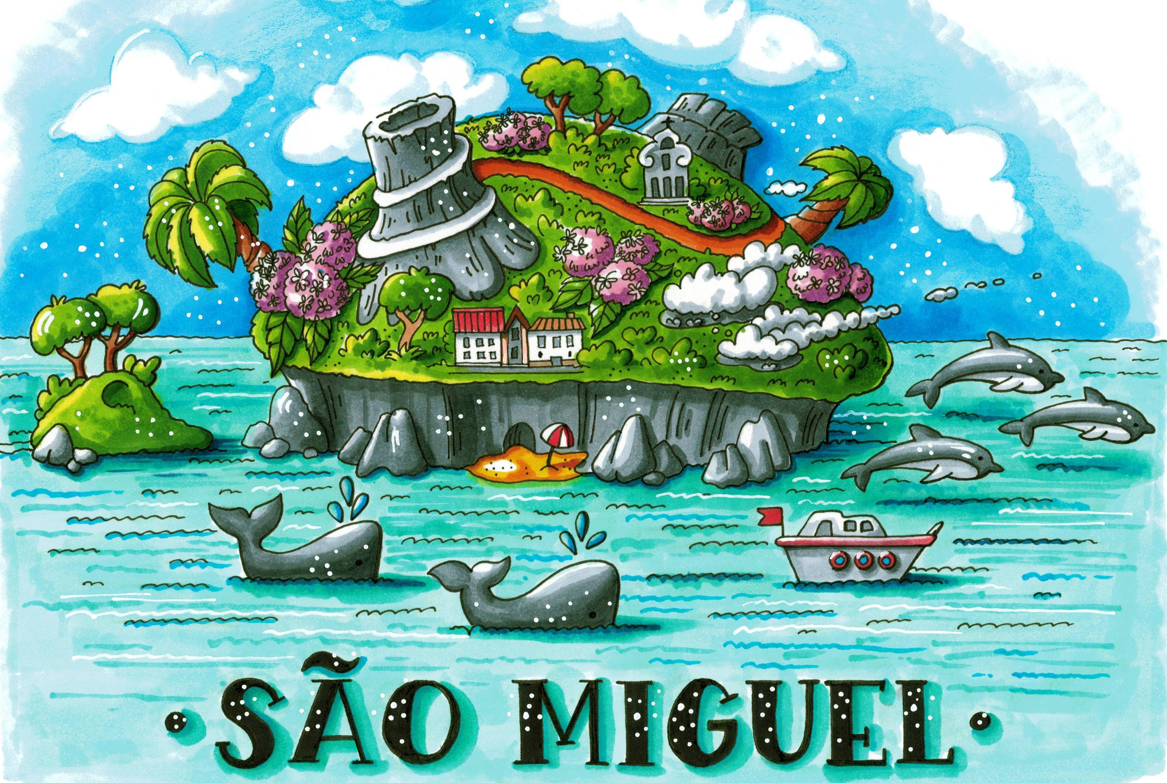 Sao Miguel Azores Island