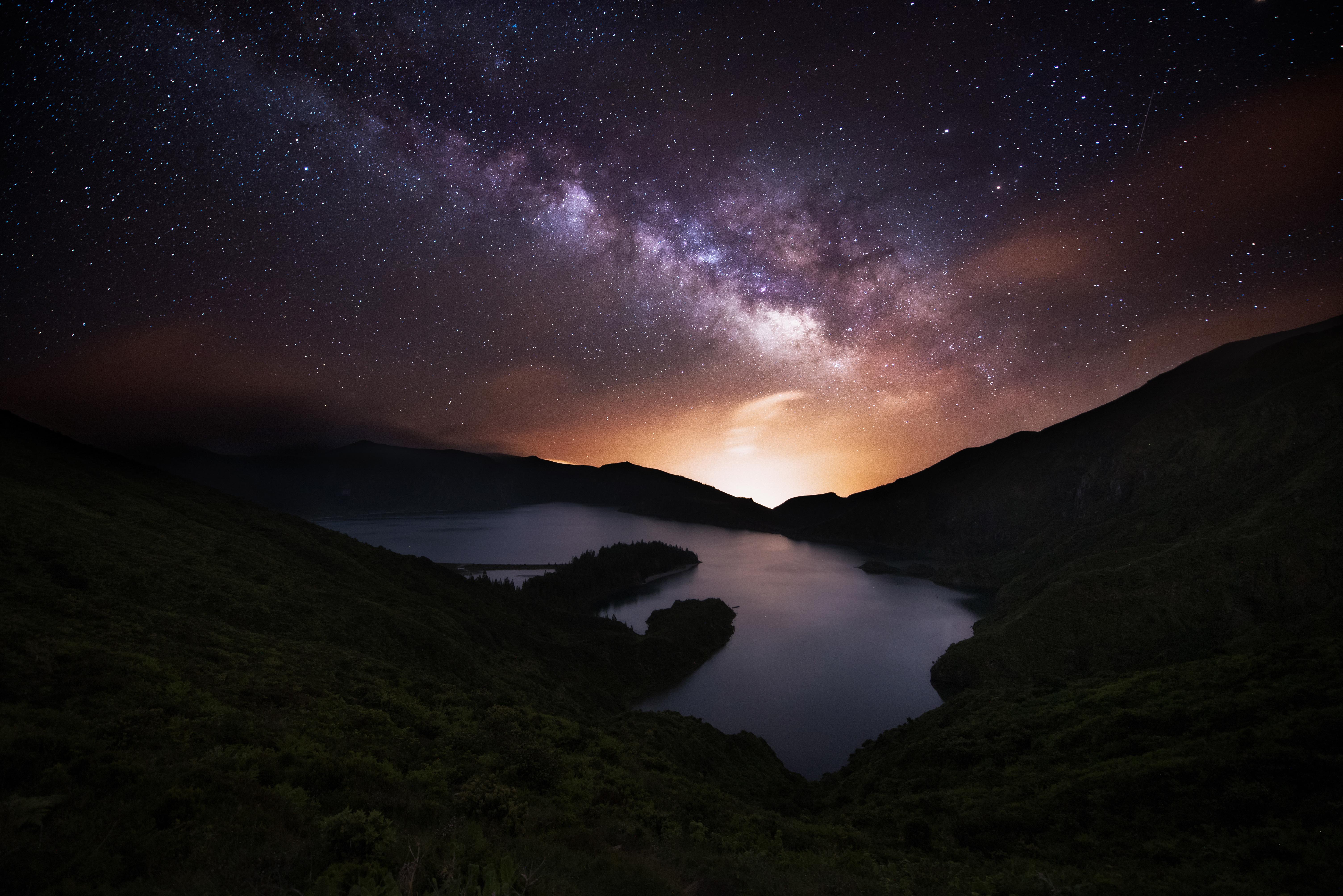 Azores Night Sky Stars