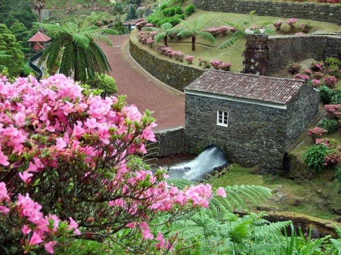 Idyllic Park At S?o Miguel Island