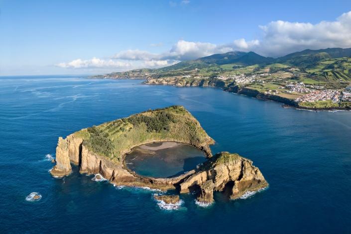Islet Of Vila Franca Do Campo, Sao Miguel Island, Azores, Portug
