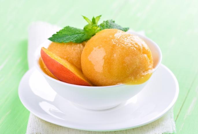 Peach Ice Cream