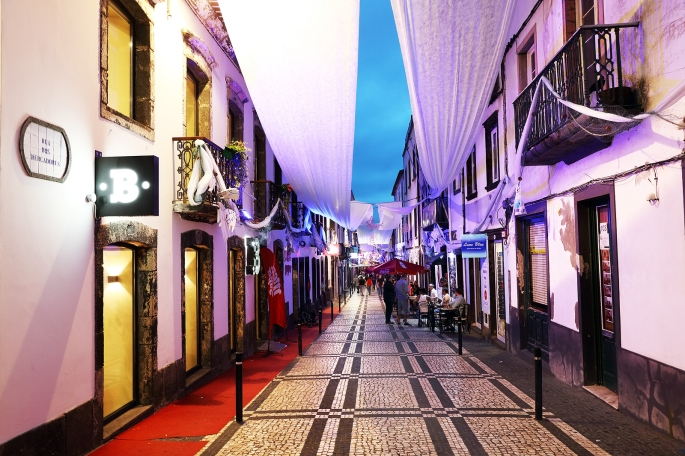 PONTA DELGADA, 12 AUGUST 2017 - White Ocean Holiday in Ponta Del