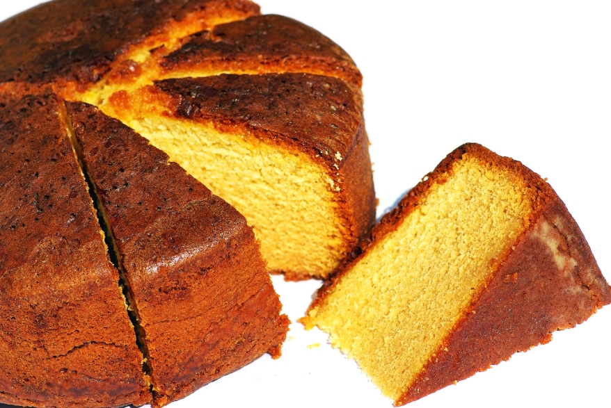 This image has an empty alt attribute; its file name is bigstock-portuguese-cake-5013370.jpg