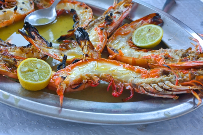 Portuguese Grilled Seafood