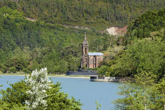 Chapel of Nossa Senhora das Victorias at Lagoa das Furnas, Sao Miguel, Azores