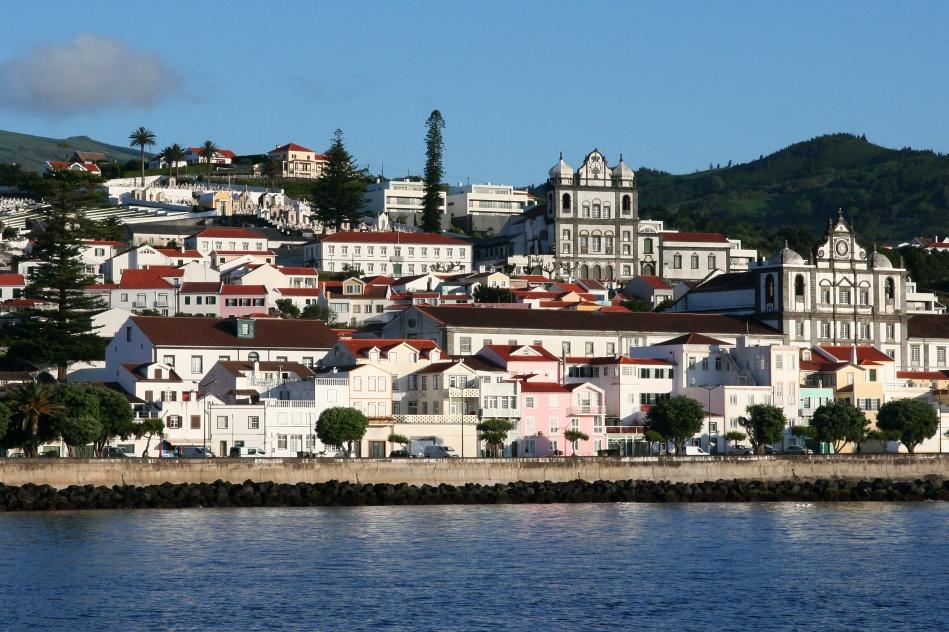 Inselhauptstadt Horta (Insel Faial / Azoren)