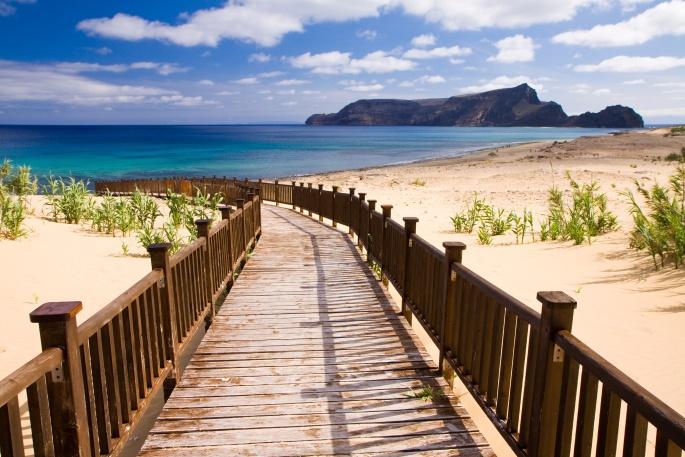 Sidewalk to the beach