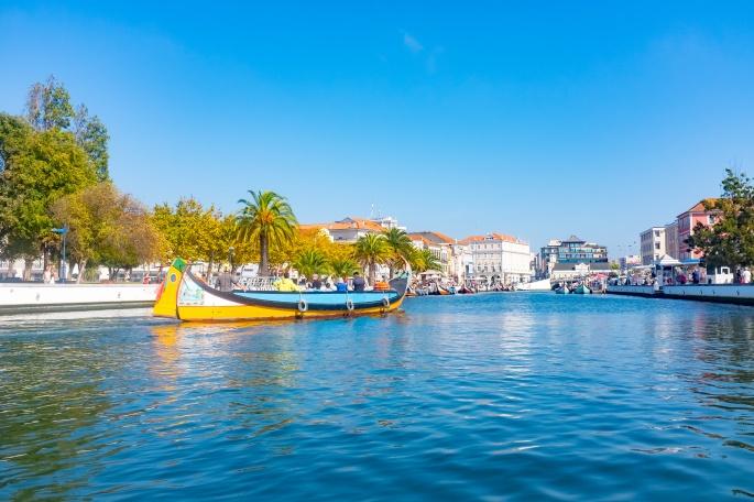 Aveiro Portugal Canal