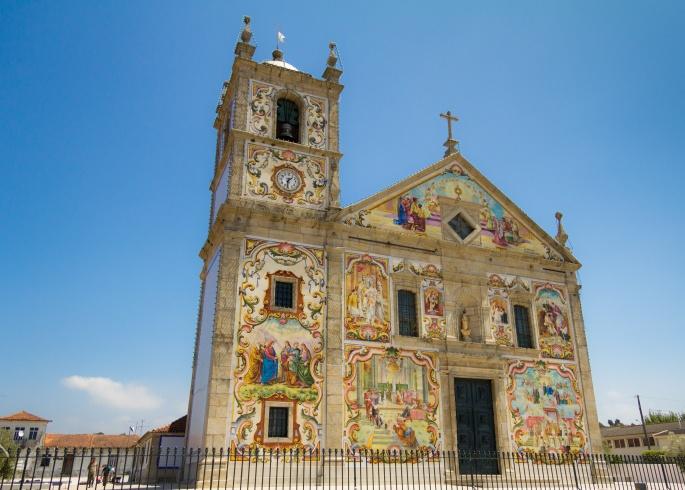 Portuguese church Matriz de Válega
